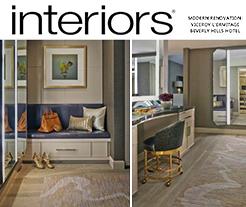 Interiors cover