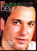 Boutique Design magazine cover