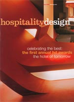 Hospitality Design magazine cover